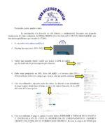 Instrucciones inscripción